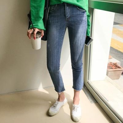 1区韩国本土服装代购(韩国圆通直发)Imvely-时尚流行魅力牛仔裤(2018-04-24上架)