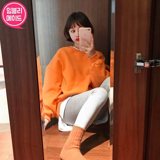 1区韩国本土服装代购(韩国圆通直发)Imvely-卫衣(2018-11-16上架)