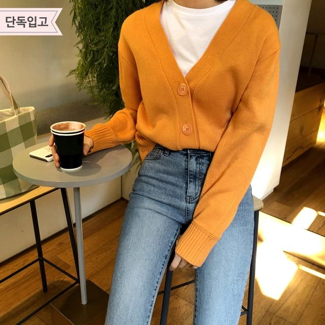 1区韩国本土服装代购(韩国圆通直发)Imvely-开襟衫(2019-03-19上架)
