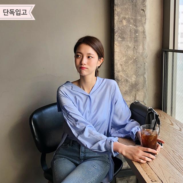 1区韩国本土服装代购(韩国圆通直发)Imvely-衬衫(2019-05-14上架)