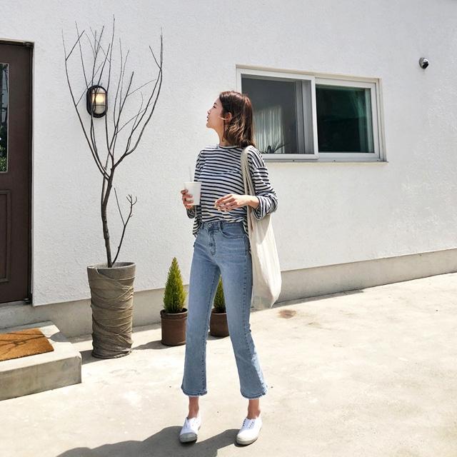 1区韩国本土服装代购(韩国圆通直发)Imvely-牛仔裤(2019-05-19上架)