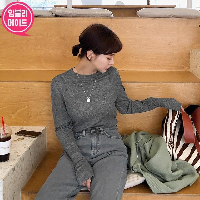 1区100%正宗韩国官网代购(韩国直发包国际运费)Imvely-T恤(2020-02-21上架)