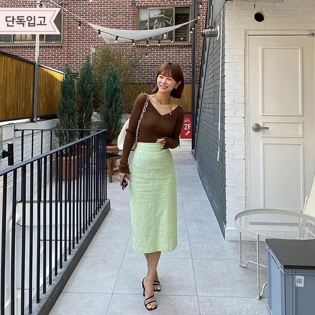 1区100%正宗韩国官网代购(韩国直发包国际运费)Imvely-长裙(2020-07-04上架)