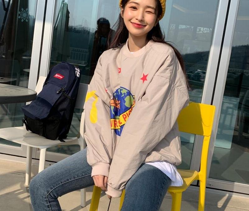 1区韩国本土服装代购(韩国圆通直发)Kikiko-卫衣(2019-01-16上架)