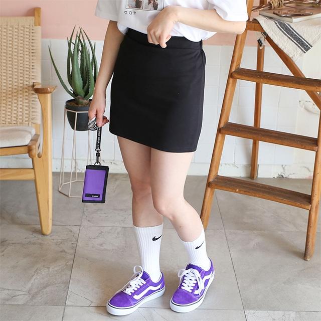 1區100%正宗韓國官網代購(韓國直發包國際運費)Kikiko-短裙(2019-06-26上架)