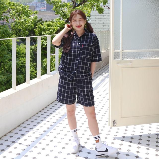 1区韩国本土服装代购(韩国圆通直发)Kikiko-短裤(2019-05-19上架)
