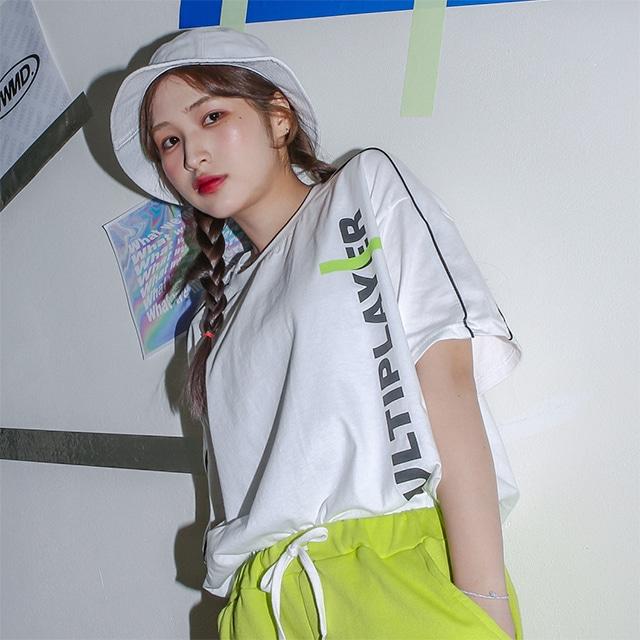 1区100%正宗韩国官网代购(韩国直发包国际运费)Kikiko-T恤(2019-06-25上架)