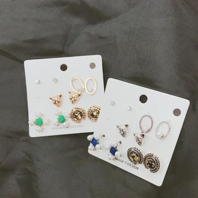 kongstyle-时尚魅力耳环套装