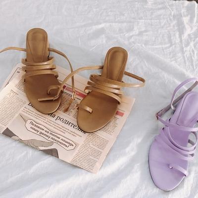 1区韩国本土服装代购(韩国圆通直发)kongstyle-时代潮流韩版凉鞋(2018-04-24上架)