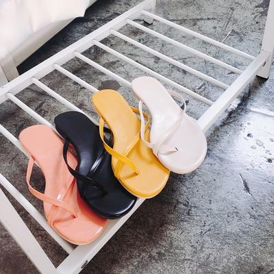 1区韩国本土服装代购(韩国圆通直发)kongstyle-时尚潮流女孩拖鞋(2018-04-24上架)