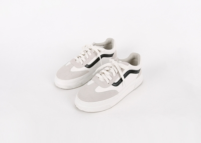 1区韩国本土服装代购(韩国圆通直发)kongstyle-舒适配色韩版运动鞋(本商品是非新品,请联系客服核对再下单哦28上架)
