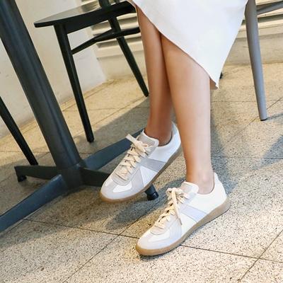 1区韩国本土服装代购(韩国圆通直发)kongstyle-韩版朴素风格运动鞋(本商品是非新品,请联系客服核对再下单哦28上架)