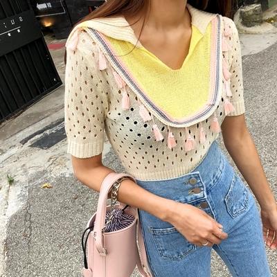 1区韩国本土服装代购(韩国圆通直发)kongstyle-针织衫(2018-07-14上架)