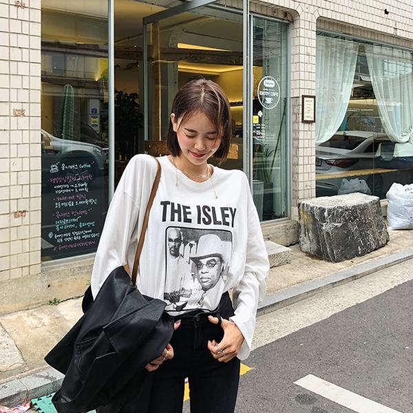 1区韩国本土服装代购(韩国圆通直发)kongstyle-T恤(2018-09-24上架)