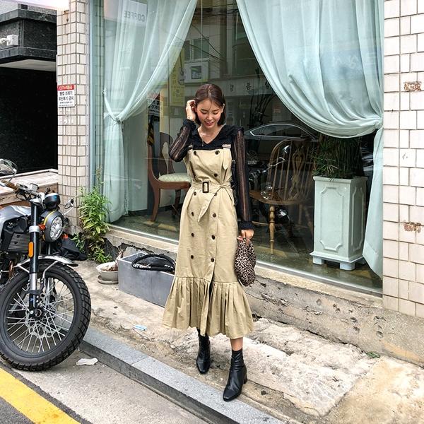 1区韩国本土服装代购(韩国圆通直发)kongstyle-连衣裙(2018-09-24上架)