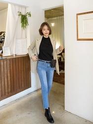 2018新款韩国服装kongstyle品牌魅力风格帅气牛仔裤(2018.1月)
