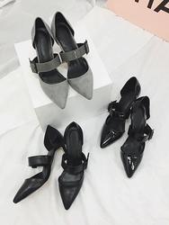 2018新款韩国服装kongstyle品牌时尚风格魅力高跟鞋(2018.1月)