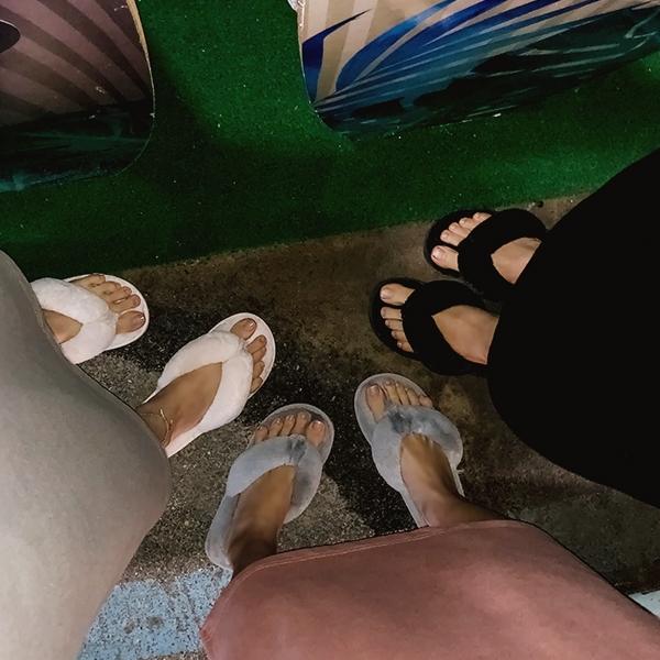 1区韩国本土服装代购(韩国圆通直发)kongstyle-拖鞋(2019-01-16上架)