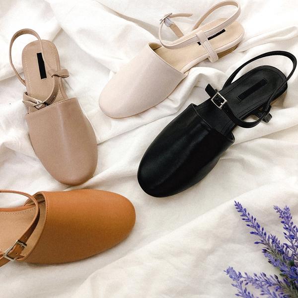 1区韩国本土服装代购(韩国圆通直发)kongstyle-平底鞋(2019-03-15上架)