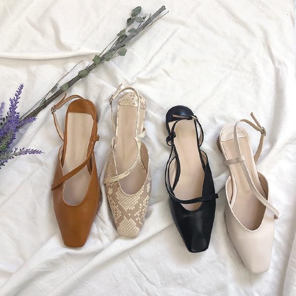 1区韩国本土服装代购(韩国圆通直发)kongstyle-平底鞋(2019-03-19上架)
