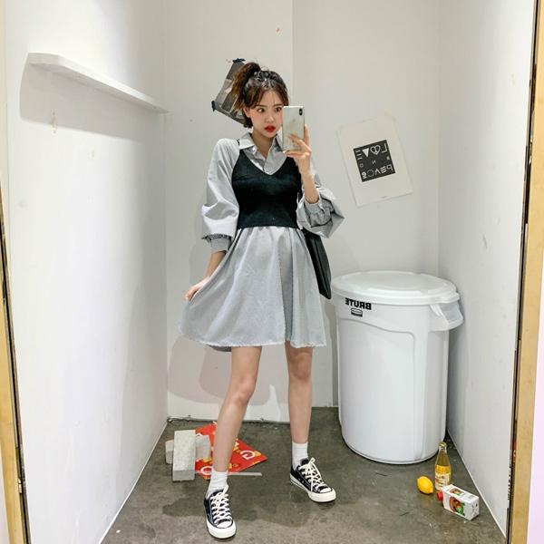1区韩国本土服装代购(韩国圆通直发)kongstyle-休闲套装(2019-03-20上架)