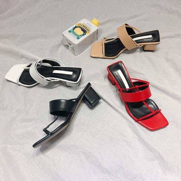 1区韩国本土服装代购(韩国圆通直发)kongstyle-拖鞋(2019-04-17上架)