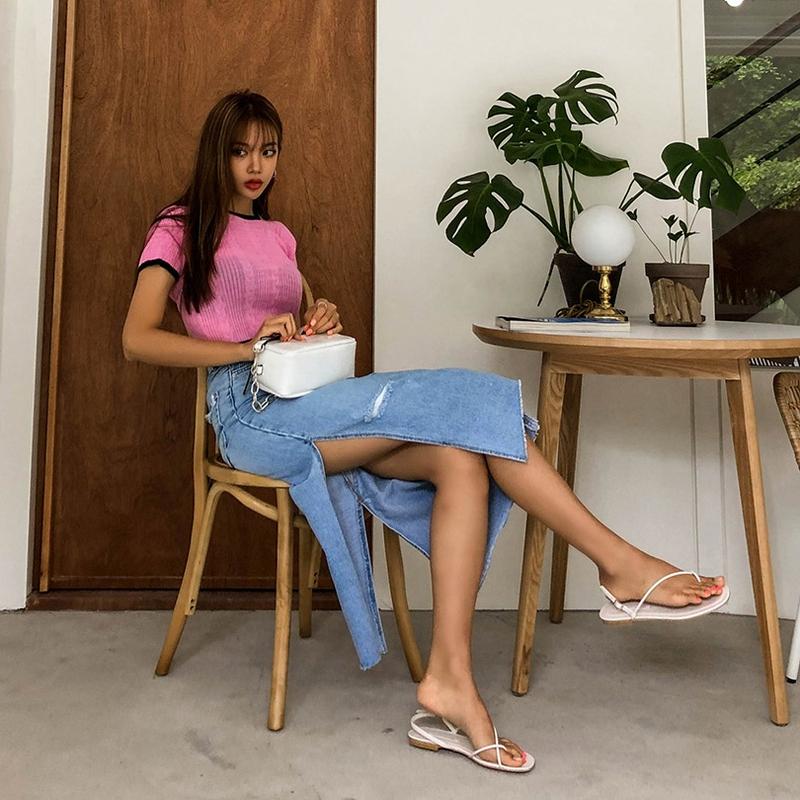 1区100%正宗韩国官网代购(韩国直发包国际运费)liphop-长裙(2019-06-25上架)