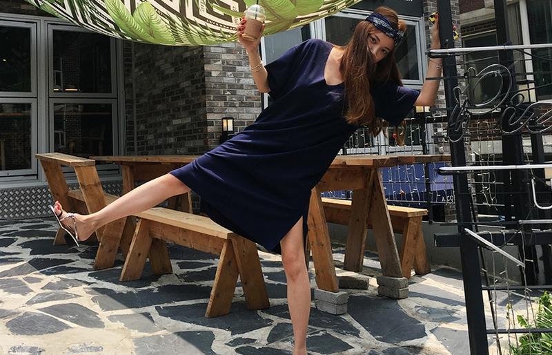 1區100%正宗韓國官網代購(韓國直發包國際運費)liphop-連衣裙(2019-08-09上架)