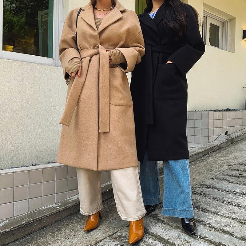 1區100%正宗韓國官網代購(韓國直發包國際運費)liphop-大衣(2019-10-20上架)