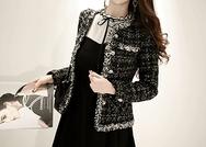 2018新款韩国服装marlangrouge品牌时尚修身可爱夹克(2018.1月)