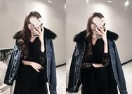 2018新款韩国服装marlangrouge品牌时尚流行牛仔夹克(2018.1月)