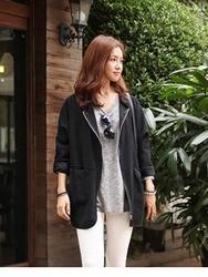 1区韩国代购正品验证mas-oeur-MEJK00766388-深色新款百搭时尚夹克