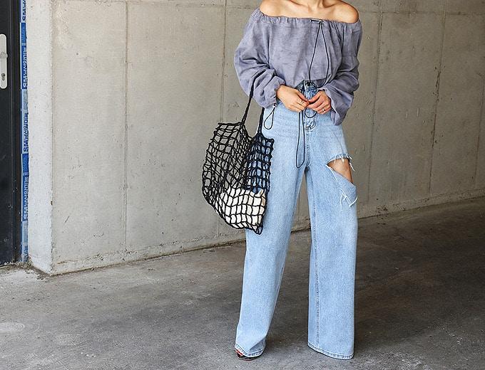 1区100%正宗韩国官网代购(韩国直发包国际运费)masion-de-nolita-牛仔裤(2019-07-23上架)