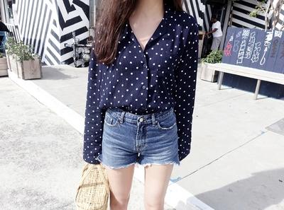 maybe-baby-韩版魅力个性流行衬衫