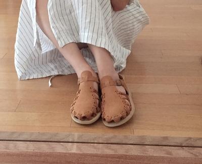 1区韩国本土服装代购(韩国圆通直发)maybe-baby-轻松夏季流行平底鞋(2018-07-09上架)