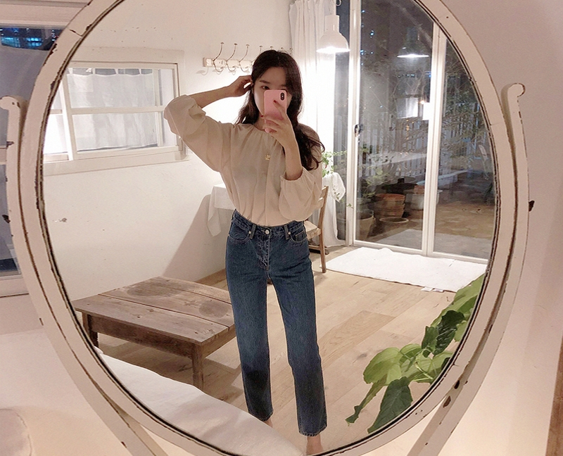 1区韩国本土服装代购(韩国圆通直发)maybe-baby-牛仔裤(2018-09-24上架)