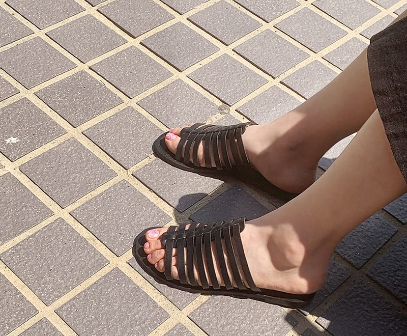 1区韩国本土服装代购(韩国圆通直发)maybe-baby-平底鞋(2019-05-19上架)
