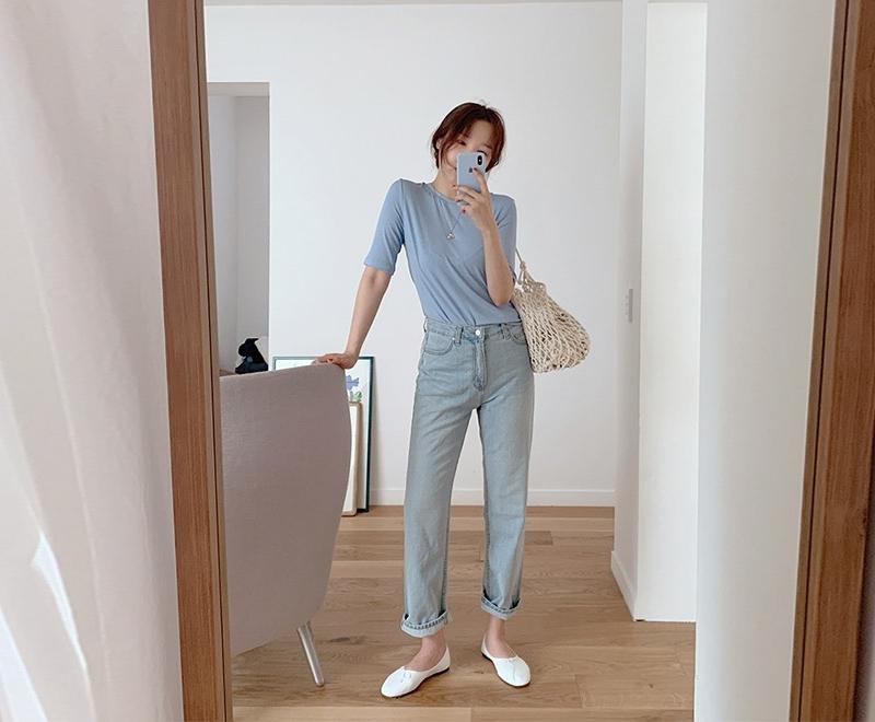 1区韩国本土服装代购(韩国圆通直发)maybe-baby-牛仔裤(2019-05-19上架)