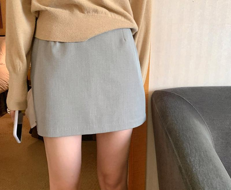 1区100%正宗韩国官网代购(韩国直发包国际运费)maybe-baby-短裙(2019-09-06上架)
