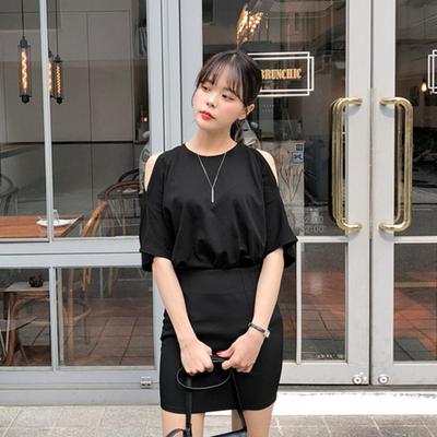merongshop-韩版个性纯色T恤