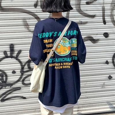 1区韩国本土服装代购(韩国圆通直发)merongshop-时尚新款个性T恤(2018-04-16上架)
