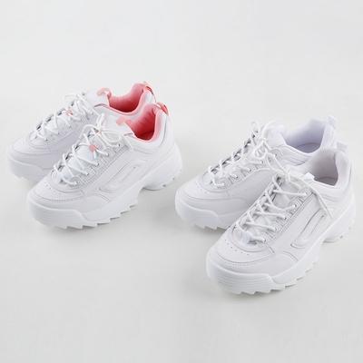 1区韩国本土服装代购(韩国圆通直发)merongshop-新款简约时尚运动鞋(本商品非新品请联系客服核对再下单-17上架)