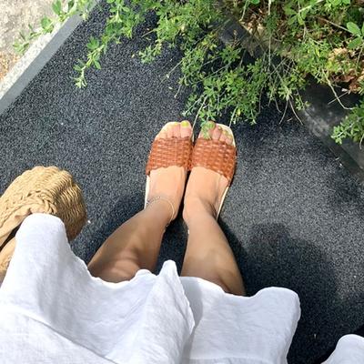 1区韩国本土服装代购(韩国圆通直发)merongshop-拖鞋(2018-10-15上架)