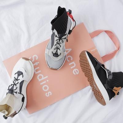 1区韩国本土服装代购(韩国圆通直发)merongshop-新款休闲连袜运动鞋(本商品非新品请联系客服核对再下单-14上架)