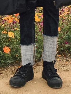 michyeora-休闲系带舒适平底鞋