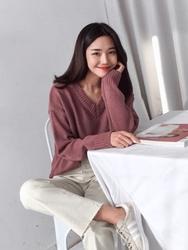 2018新款韩国服装michyeora品牌魅力宽松休闲长裤(2018.1月)