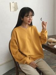 2018新款韩国服装michyeora品牌时尚风格宽松卫衣(2018.1月)