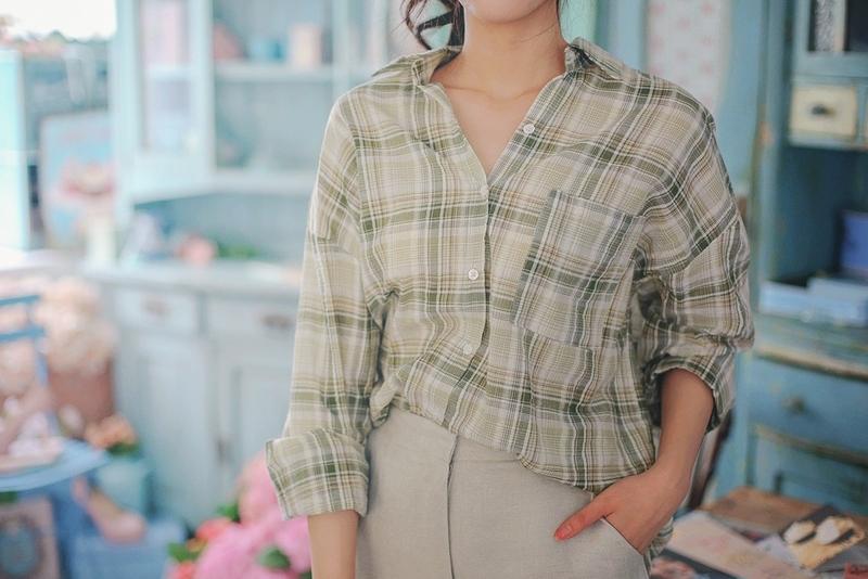 1区韩国本土服装代购(韩国圆通直发)milkcocoa-衬衫(2019-05-14上架)