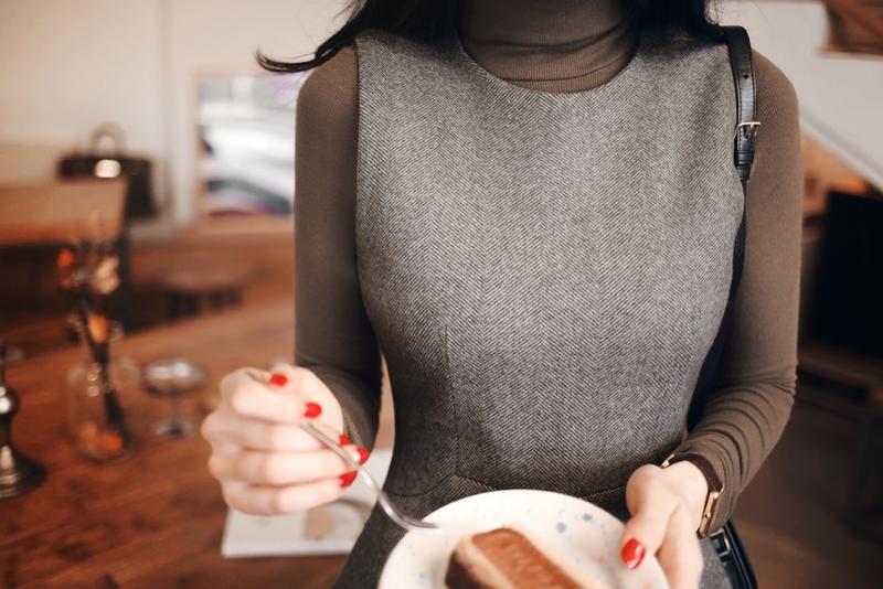 1区100%正宗韩国官网代购(韩国直发包国际运费)milkcocoa-连衣裙(2020-11-26上架)