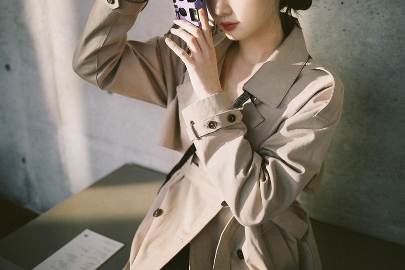 1区100%正宗韩国官网代购(韩国直发包国际运费)milkcocoa-大衣(2021-03-24上架)